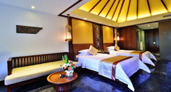 Wooden Villa Deluxe  Twin Beds Room